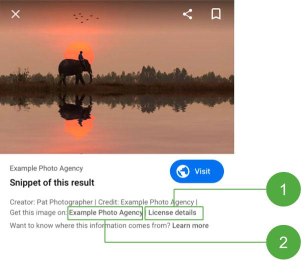 Licence Google Images