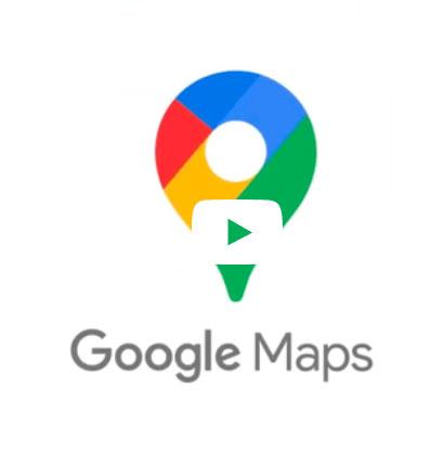 Nouveau logo de Google Maps dévoilé par Google.